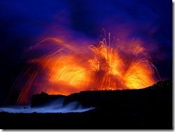 volcano lightening
